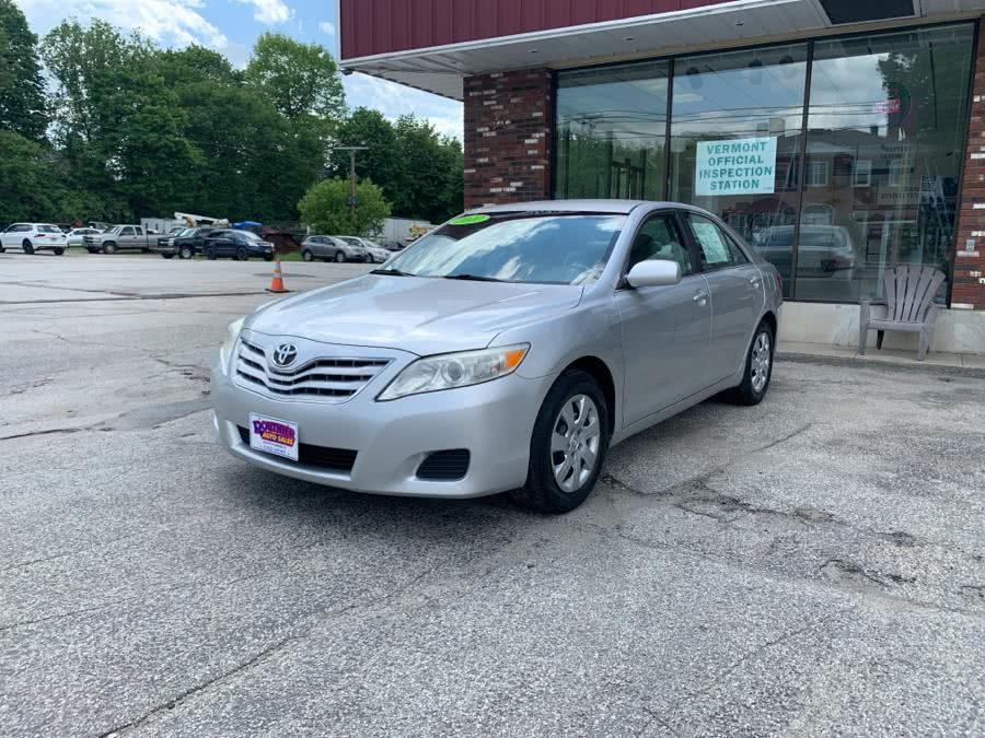 Used Toyota Camry 4dr Sdn I4 Auto LE (Natl) 2010 | Routhier Auto Center. Barre, Vermont