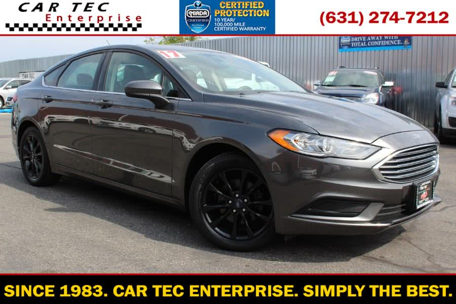 Used Ford Fusion SE FWD 2017 | Car Tec Enterprise Leasing & Sales LLC. Deer Park, New York