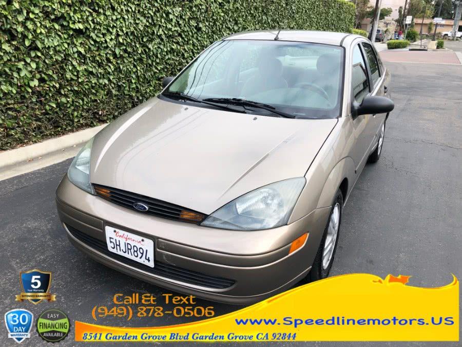 Used Ford Focus 4dr Sdn SE 2004 | Speedline Motors. Garden Grove, California