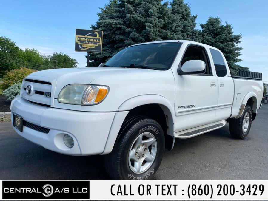 Used Toyota Tundra AccessCab V8 Ltd 4WD Stepside (Natl 2003 | Central A/S LLC. East Windsor, Connecticut