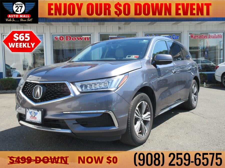 Used 2017 Acura MDX in Linden, New Jersey | Route 27 Auto Mall. Linden, New Jersey