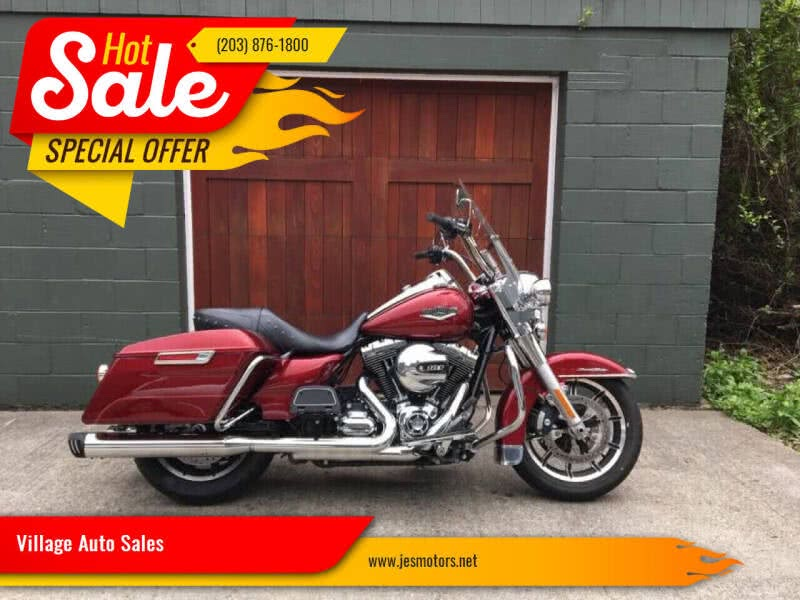 Used 2016 Harley Davidson Road King in Milford, Connecticut | Village Auto Sales. Milford, Connecticut