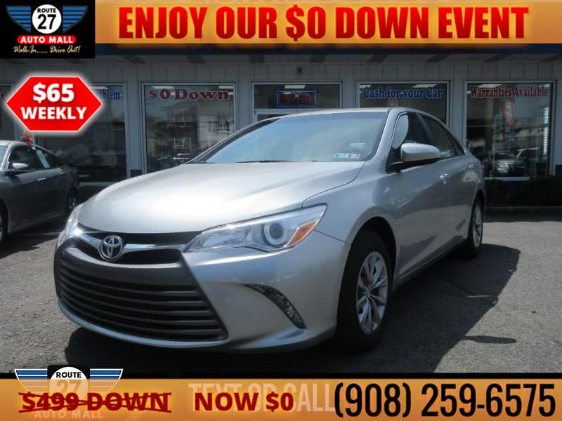Used 2017 Toyota Camry in Linden, New Jersey | Route 27 Auto Mall. Linden, New Jersey