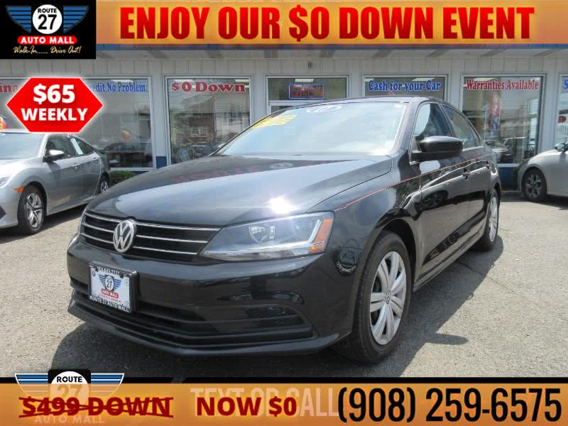 Used 2017 Volkswagen Jetta in Linden, New Jersey | Route 27 Auto Mall. Linden, New Jersey