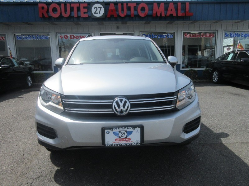 Used Volkswagen Tiguan 2.0T S 4MOTION 2017 | Route 27 Auto Mall. Linden, New Jersey