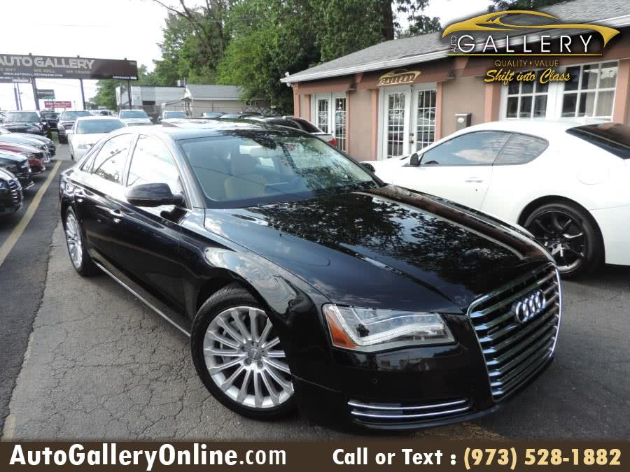 Used Audi A8 4dr Sdn 4.0T 2014 | Auto Gallery. Lodi, New Jersey