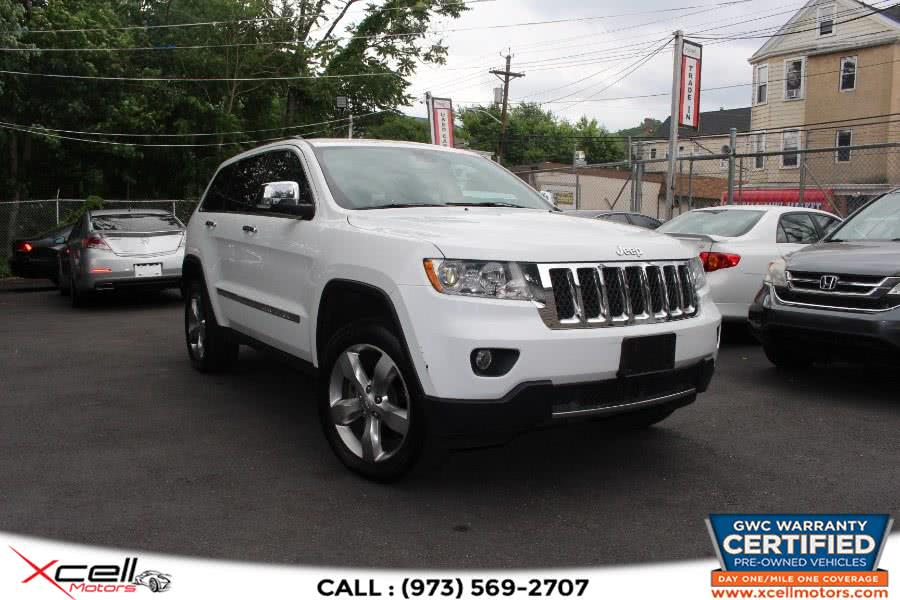 Used 2013 Jeep Grand Cherokee Overland in Paterson, New Jersey | Xcell Motors LLC. Paterson, New Jersey
