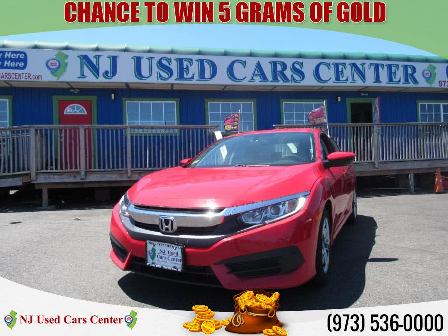Used 2017 Honda Civic Sedan in Irvington, New Jersey | NJ Used Cars Center. Irvington, New Jersey