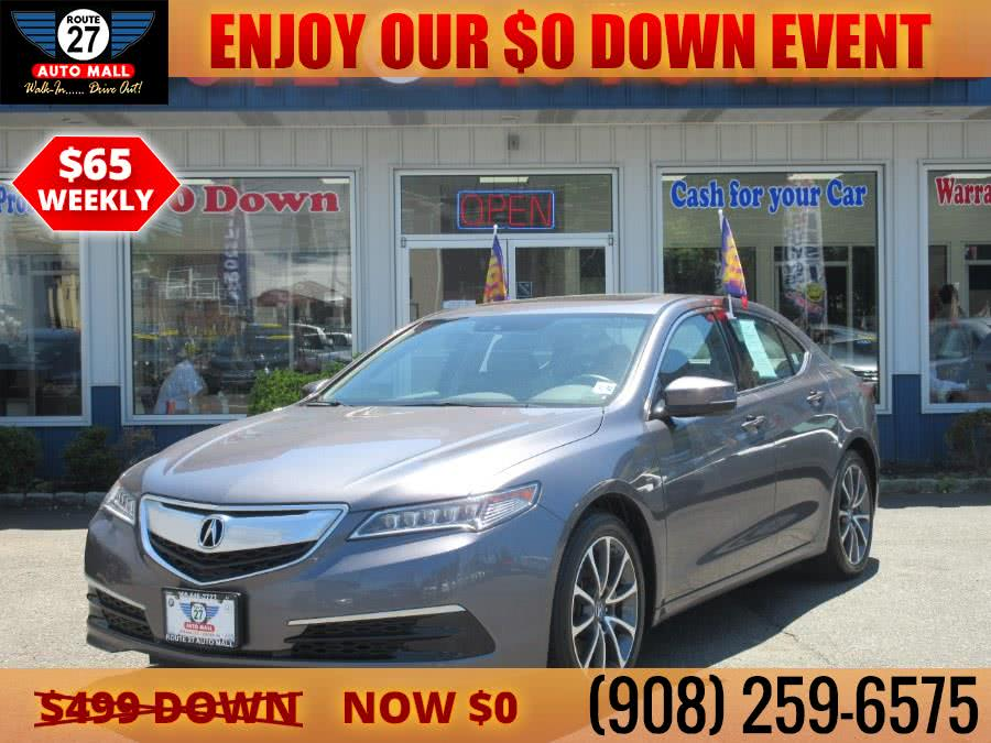 Used 2017 Acura TLX in Linden, New Jersey   Route 27 Auto Mall. Linden, New Jersey