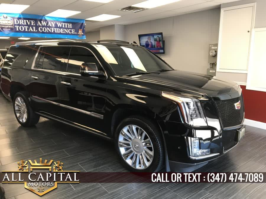 Used 2017 Cadillac Escalade ESV in Brooklyn, New York | All Capital Motors. Brooklyn, New York