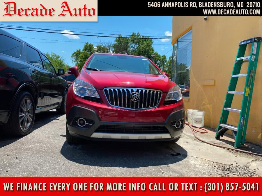 Used Buick Encore AWD 4dr Convenience 2016 | Decade Auto. Bladensburg, Maryland