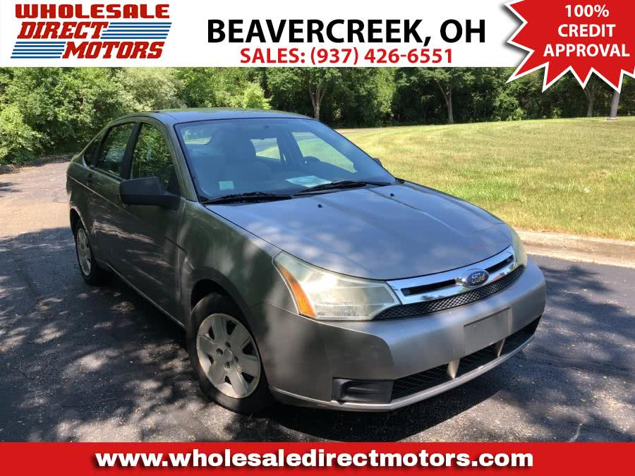 Used Ford Focus 4dr Sdn S 2008 | Wholesale Direct Motors. Beavercreek, Ohio