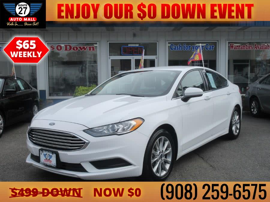 Used 2017 Ford Fusion in Linden, New Jersey | Route 27 Auto Mall. Linden, New Jersey