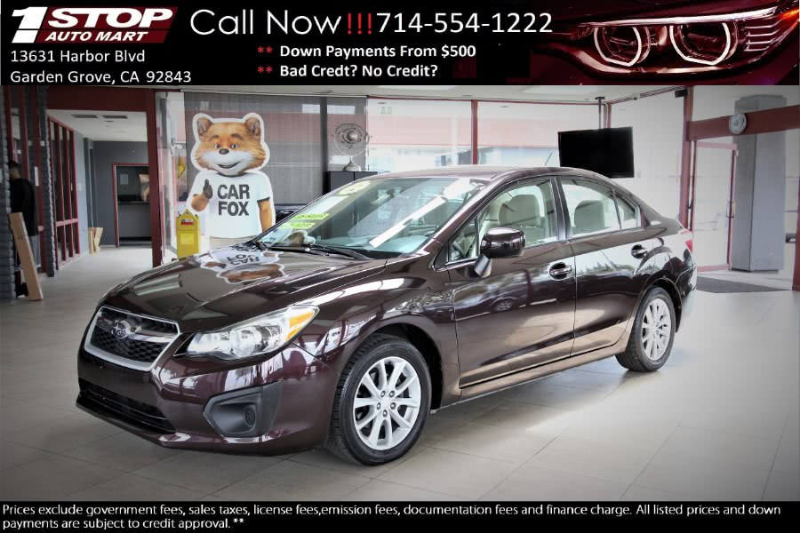 Used 2012 Subaru Impreza Sedan in Garden Grove, California | 1 Stop Auto Mart Inc.. Garden Grove, California