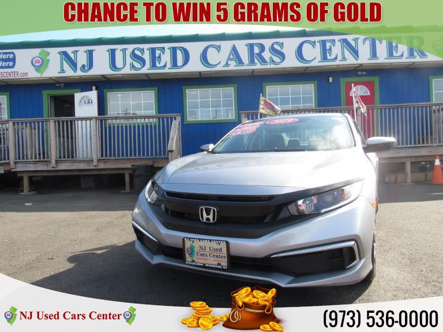 Used 2019 Honda Civic Sedan in Irvington, New Jersey | NJ Used Cars Center. Irvington, New Jersey