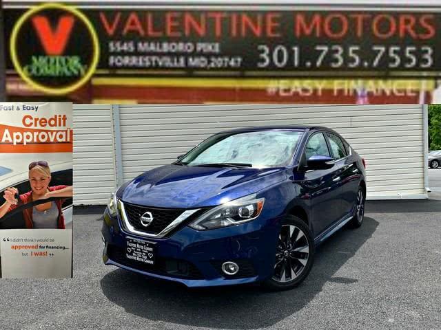Used Nissan Sentra SR 2019 | Valentine Motor Company. Forestville, Maryland