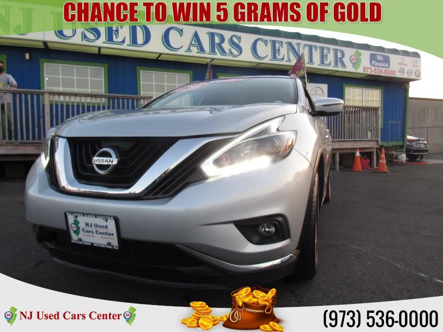Used 2018 Nissan Murano in Irvington, New Jersey | NJ Used Cars Center. Irvington, New Jersey