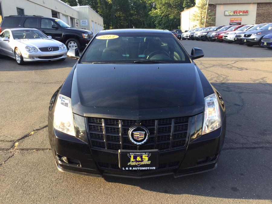 Used Cadillac CTS Coupe 2dr Cpe Performance AWD 2013 | L&S Automotive LLC. Plantsville, Connecticut