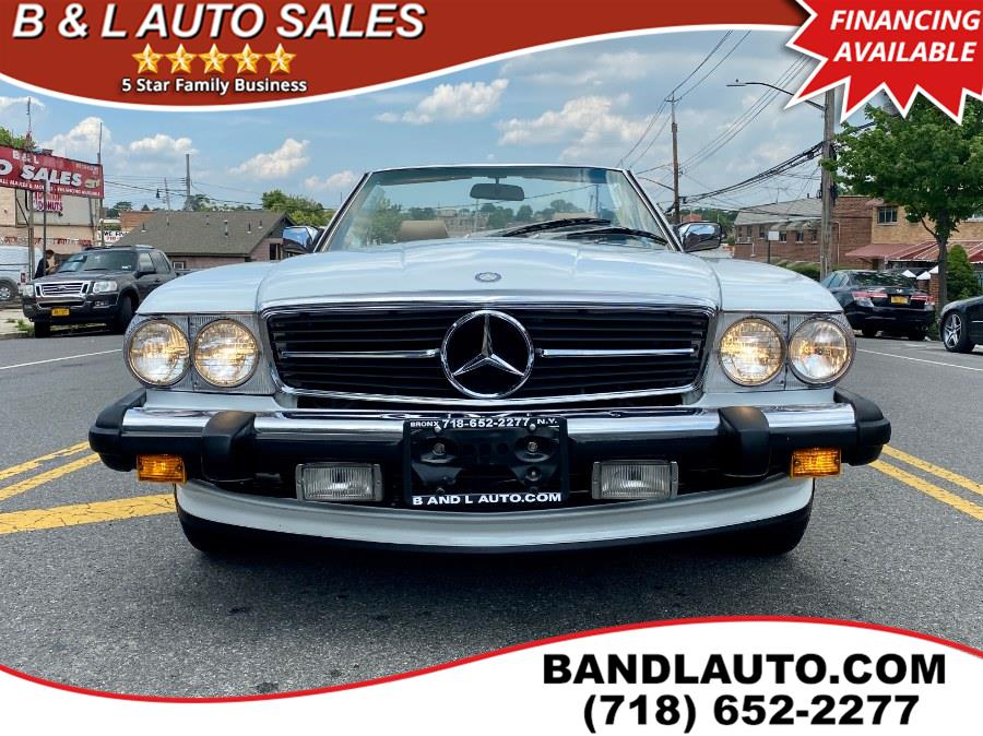 Used Mercedes-Benz 560SL 2dr Roadster 1989 | B & L Auto Sales LLC. Bronx, New York
