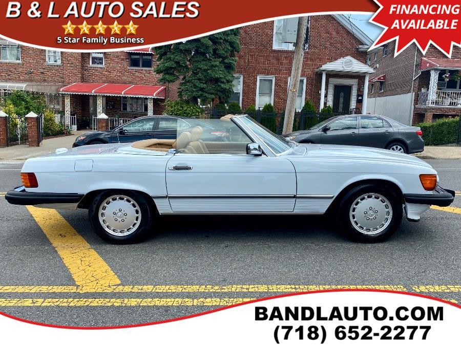Used Mercedes-Benz 560SL 2dr Roadster 1989   B & L Auto Sales LLC. Bronx, New York