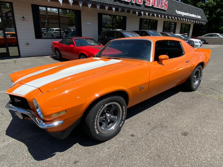 1970 Chevrolet Camaro 2dr Cpe Z28, available for sale in Waterbury, CT
