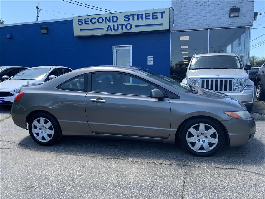 Used 2008 Honda Civic Cpe in Manchester, New Hampshire | Second Street Auto Sales Inc. Manchester, New Hampshire