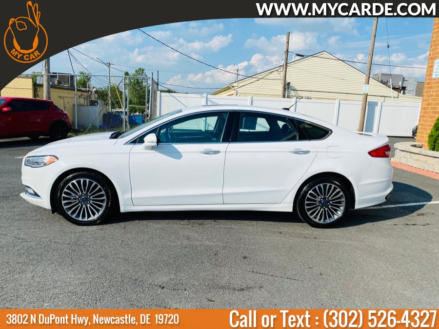 Used Ford Fusion Titanium AWD 2018 | My Car. Newcastle, Delaware