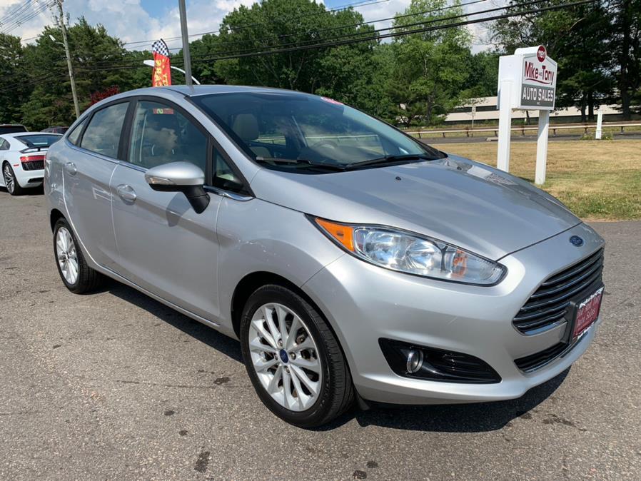 Used Ford Fiesta Titanium Sedan 2017 | Mike And Tony Auto Sales, Inc. South Windsor, Connecticut