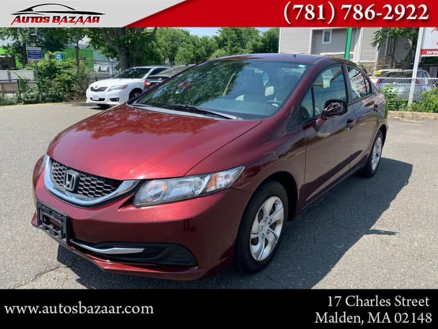 Used 2013 Honda Civic Sdn in Malden, Massachusetts | Auto Bazaar. Malden, Massachusetts