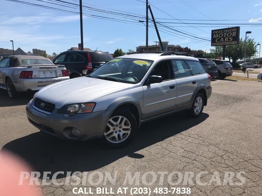 Used Subaru Legacy Wagon (Natl) Outback 2.5i Auto PZEV 2005 | Precision Motor Cars LLC. Branford, Connecticut