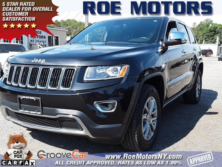 Used 2015 Jeep Grand Cherokee in Shirley, New York | Roe Motors Ltd. Shirley, New York
