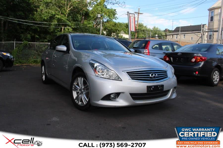 Used 2011 Infiniti G37X AWD in Paterson, New Jersey | Xcell Motors LLC. Paterson, New Jersey