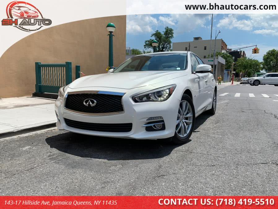 Used 2015 INFINITI Q50 in Jamaica Queens, New York | BH Auto. Jamaica Queens, New York
