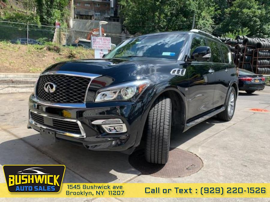 Used INFINITI QX80 4WD 4dr 2015 | Bushwick Auto Sales LLC. Brooklyn, New York