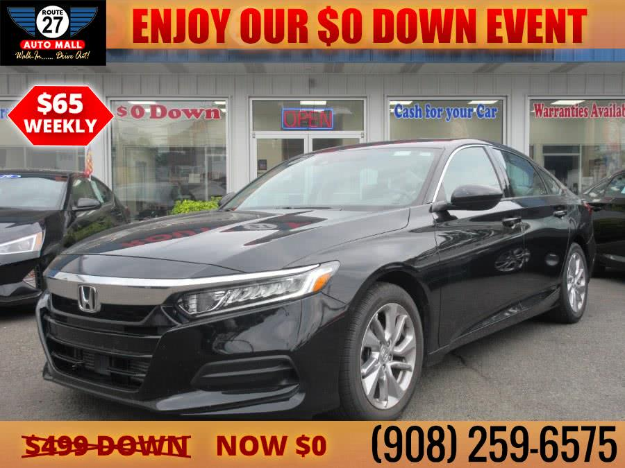 Used 2018 Honda Accord Sedan in Linden, New Jersey | Route 27 Auto Mall. Linden, New Jersey