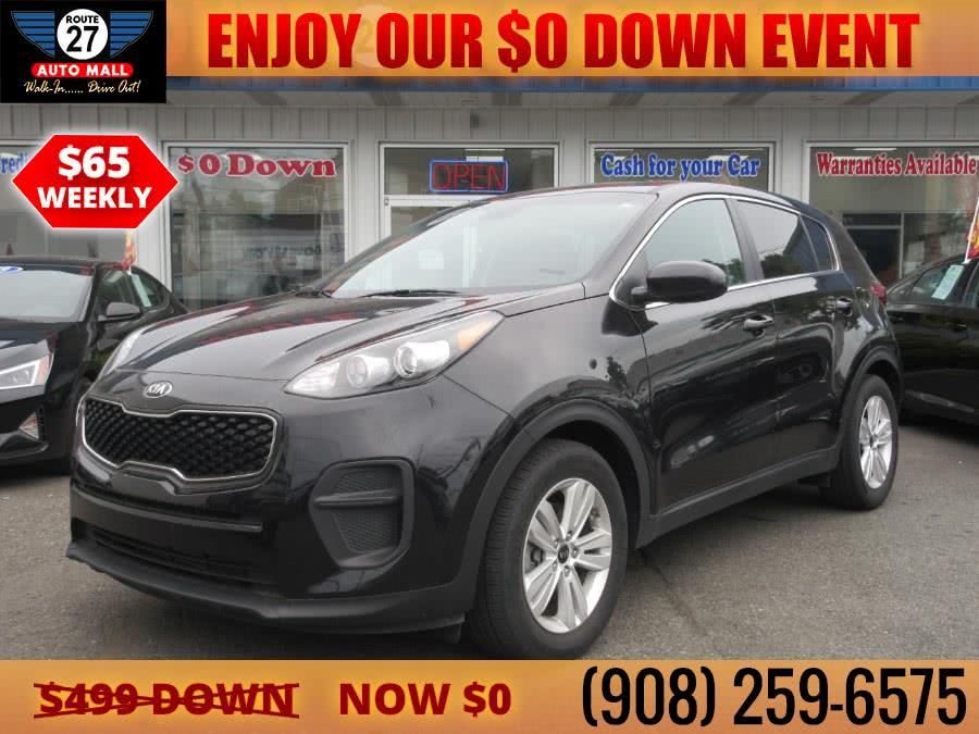 Used 2019 Kia Sportage in Linden, New Jersey | Route 27 Auto Mall. Linden, New Jersey