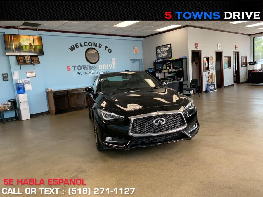 Used INFINITI Q60 2.0t RWD 2017 | 5 Towns Drive. Inwood, New York