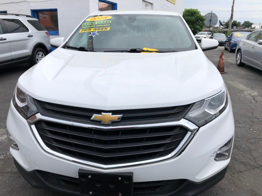 Used Chevrolet Equinox AWD 4dr LT w/1LT 2018   Affordable Motors Inc. Bridgeport, Connecticut