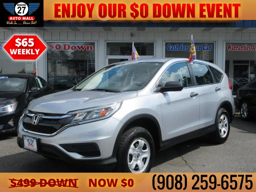 Used 2016 Honda CR-V in Linden, New Jersey | Route 27 Auto Mall. Linden, New Jersey