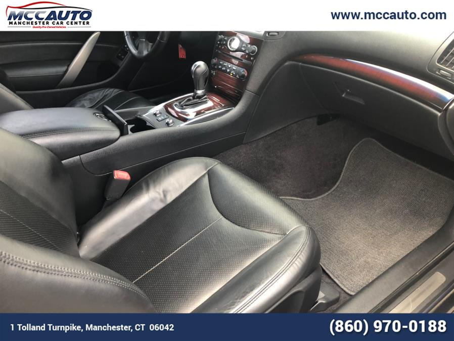 Used Infiniti G37 Coupe 2dr x AWD 2010 | Manchester Autocar Center. Manchester, Connecticut