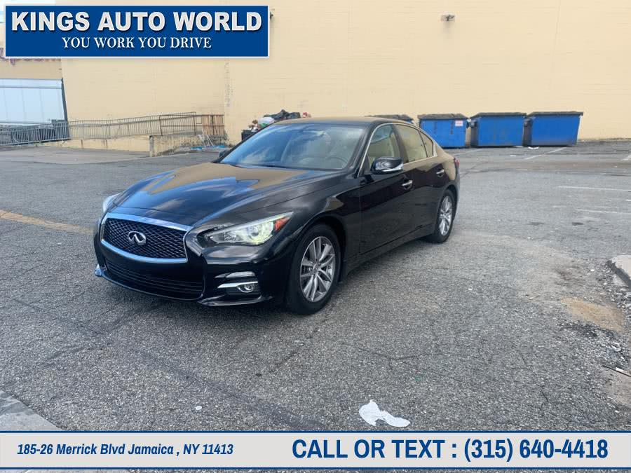 Used INFINITI Q50 4dr Sdn Premium RWD 2015 | Kings Auto World. Jamaica , New York