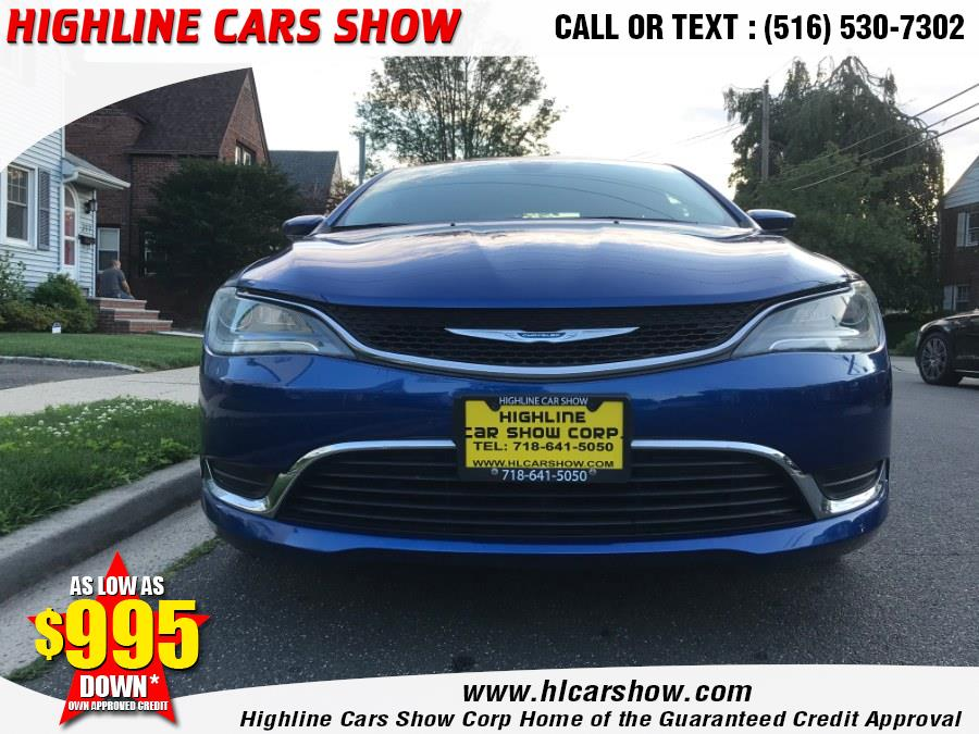 Used Chrysler 200 4dr Sdn Limited FWD 2015 | Highline Cars Show Corp. West Hempstead, New York