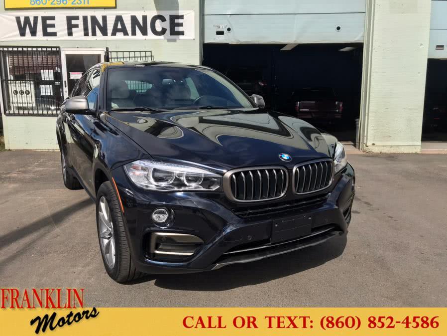Used 2017 BMW X6 in Hartford, Connecticut | Franklin Motors Auto Sales LLC. Hartford, Connecticut