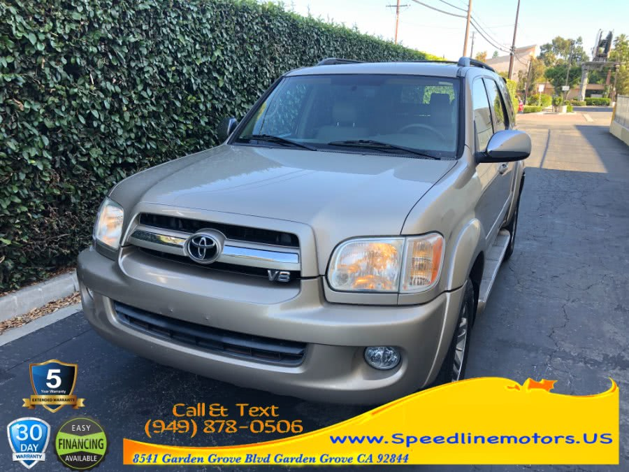 Used Toyota Sequoia 2WD 4dr Limited 2007 | Speedline Motors. Garden Grove, California