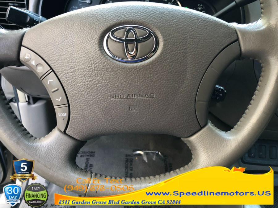 Used Toyota Sequoia 2WD 4dr Limited 2007   Speedline Motors. Garden Grove, California
