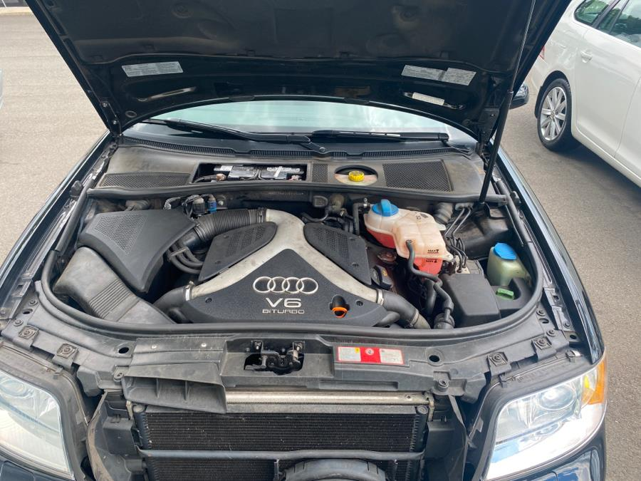 Used Audi A6 4dr Sdn 2.7T S-Line quattro Auto 2004 | Vertucci Automotive Inc. Wallingford, Connecticut