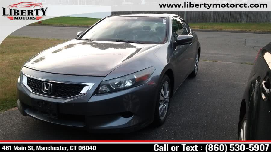 Used 2010 Honda Accord Cpe in Manchester, Connecticut | Liberty Motors. Manchester, Connecticut