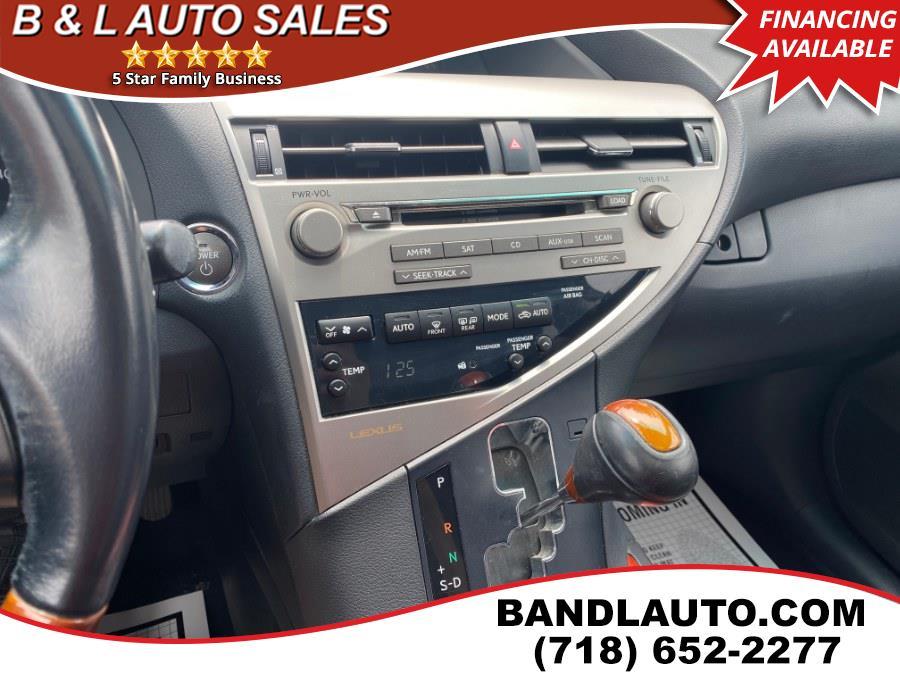 Used Lexus RX 450h AWD 4dr Hybrid 2010   B & L Auto Sales LLC. Bronx, New York