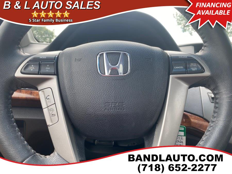 Used Honda Accord Sedan 4dr I4 Auto EX-L 2012 | B & L Auto Sales LLC. Bronx, New York
