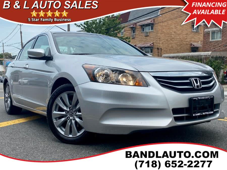 Used 2012 Honda Accord Sedan in Bronx, New York | B & L Auto Sales LLC. Bronx, New York